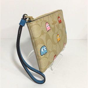 Coach Bags - Coach Pac-Man Wristlet Bag NWT